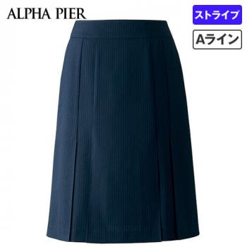 AR3669 アルファピア プリーツスカート ストライプ