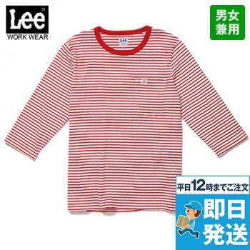 LCT29002 Lee 七分袖Tシャツ(男女兼用)