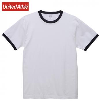5.6オンス リンガーTシャツ(男女兼用)