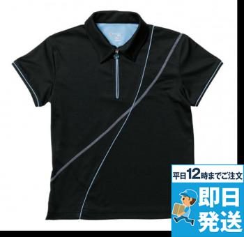 レディースダイアゴナルラインシャツ GS