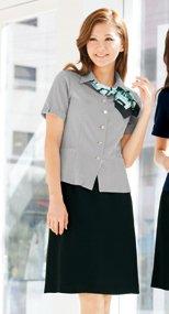 S-15740 SELERY(セロリー) 立体設計でお腹をカバーしてスッキリ見せるセミAラインのスカート 無地 99-S15740