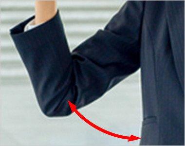独自のパータンで腕の動きラクラクなフレックススリーブ(R)II