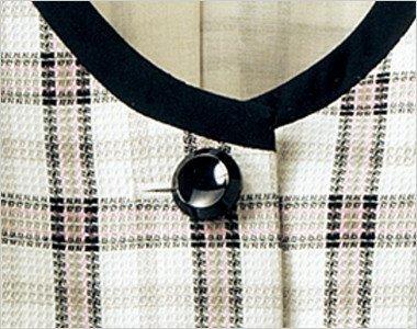 光沢のあるシンプルな黒ボタン