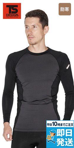 8225 TS DESIGN マイクロフリースロングスリーブシャツ(男性用)