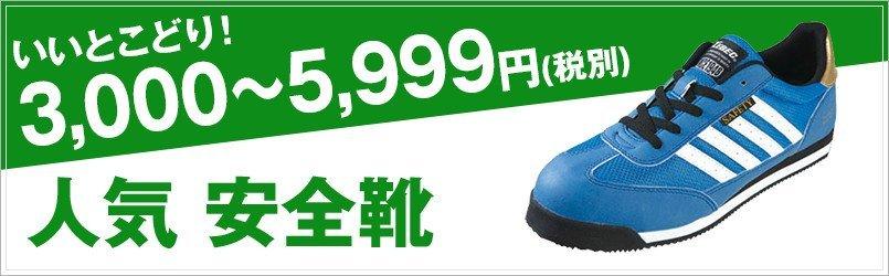 3,000~5,999円の安全靴