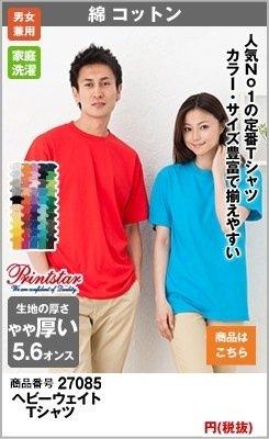 人気の高いヘビーウィトTシャツ27085