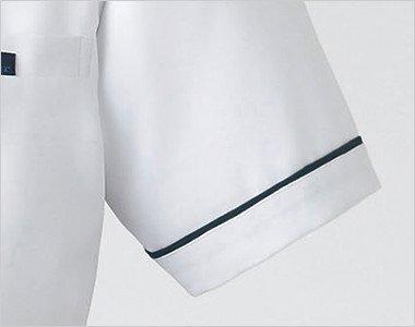 袖口と裾におしゃれなパイピング