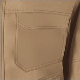 左胸 ポケット