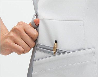 右腰ループ・収納が多い多機能ポケット