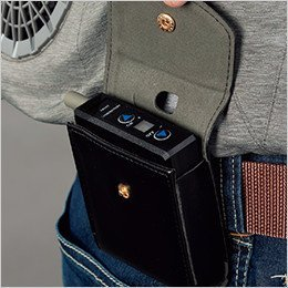 ベルトに装着可能なバッテリーケース