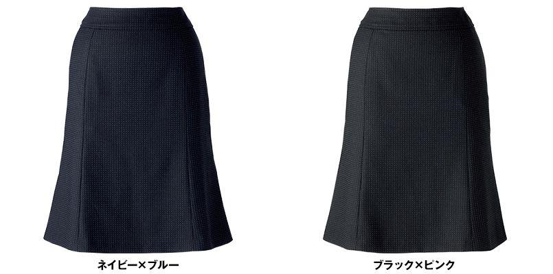 BONMAX LS2188 [通年]リブラ マーメイドスカート ドット柄 色展開