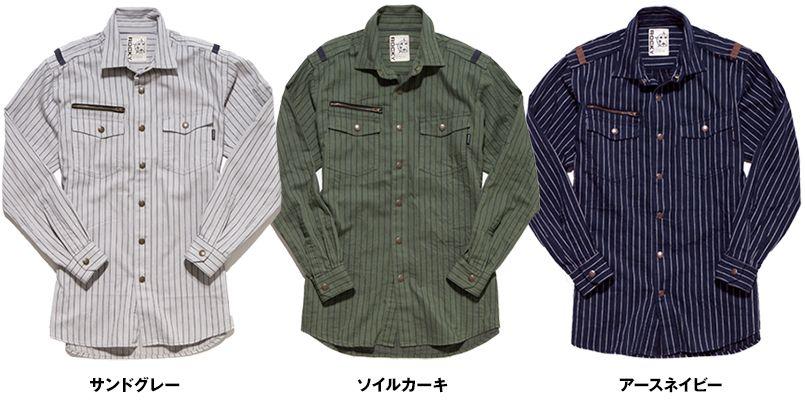 RS4302 ROCKY ワークシャツ(女性用) 色展開
