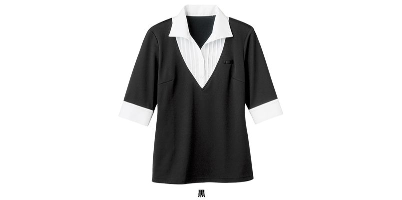 24217 BONUNI(ボストン商会) Tブラウス/五分袖(女性用) 色展開