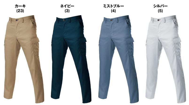 バートル 6106 [春夏用]T/Cライトチノカーゴパンツ(男女兼用) 色展開
