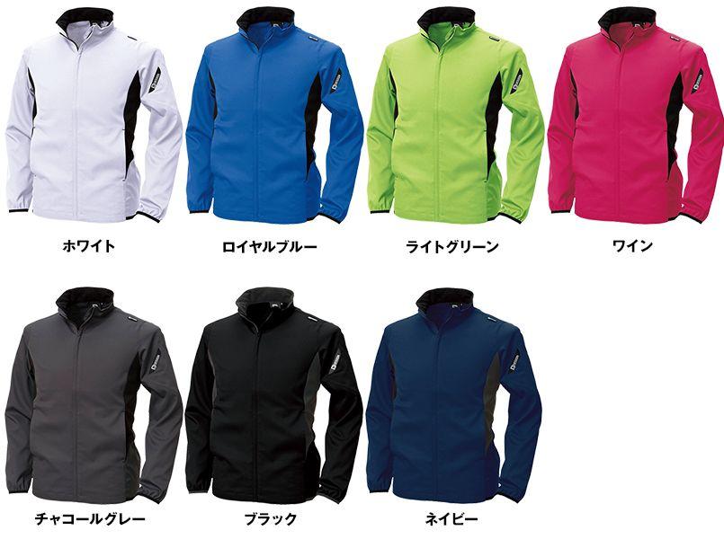 846616 TS DESIGN スーパーライトストレッチ ロングスリーブジャケット(男女兼用) 色展開