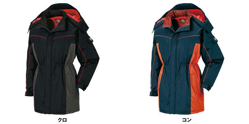 ジーベック 601 防水防寒コート 色展開