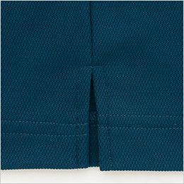 [在庫限り]AZ50006 アイトス 制電 半袖ボタウンダウンポロシャツ(男女兼用) 着脱がラクな脇スリット