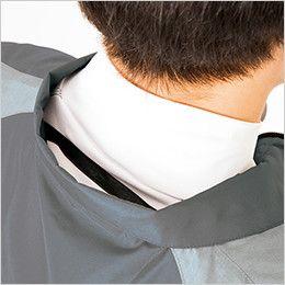 AZ50198 アイトス タルテックス 空調服 半袖ジャケット(男女兼用) ポリ100% 調整紐をとめることで、首元と脇の間に生まれる空気の通り道ができ、涼しく快適な環境を作ります