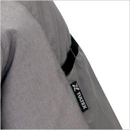 AZ50198 アイトス タルテックス 空調服 半袖ジャケット(男女兼用) ポリ100% 袖の取り出しやすい位置に施したペン差し付き