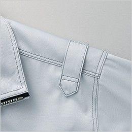 AZ60401 アイトス 長袖ブルゾン(男女兼用) デザイン肩章付