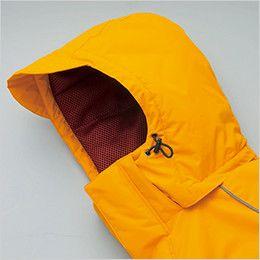 AZ6063 アイトス 極寒対応 光電子 防風防寒着コート ドローコード付き