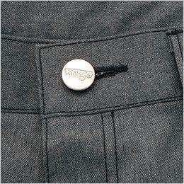 AZ64120 アイトス Wrangler(ラングラー) ノータックワークパンツ(男女兼用) 刻印タックボタン