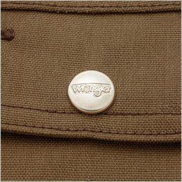 AZ64201 アイトス Wrangler(ラングラー) ジップアップジャケット(男女兼用) 刻印ドットボタン