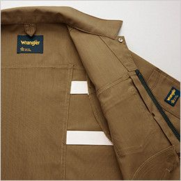 AZ64201 アイトス Wrangler(ラングラー) ジップアップジャケット(男女兼用) プリーツゴム仕様