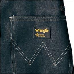AZ64381 アイトス Wrangler(ラングラー) ミディエプロン(男女兼用) ブランド織りネーム