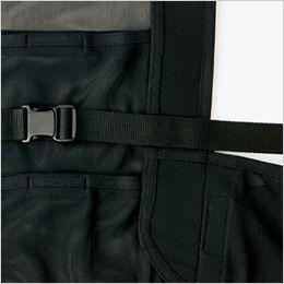 AZ865932 アイトス アイスベスト(アイスパック4個付)(男女兼用) 長さ調節が可能な前ベルト