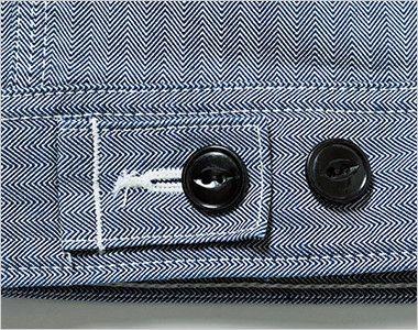 LWB06001 Lee ジップアップジャケット(男性用) 調節可能なウエストボタン付き