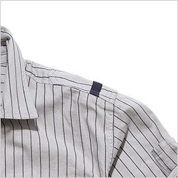 RS4302 ROCKY ワークシャツ(女性用) アレンジしたおしゃれなワンポイント