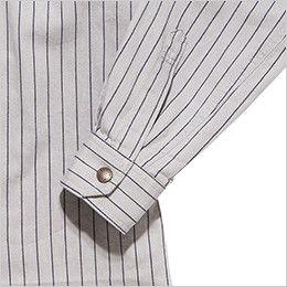 RS4302 ROCKY ワークシャツ(女性用) おしゃれなヴィンテージ感あるボタン