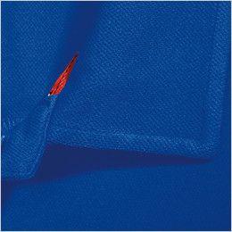 バートル 103 ハニカムメッシュ長袖ポロシャツ(胸ポケット有) ボディー 同素材