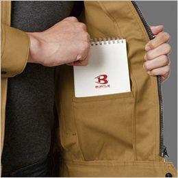 バートル 1711 [春夏用]T/Cライトチノ長袖ジャケット(男女兼用) 内ポケット付き