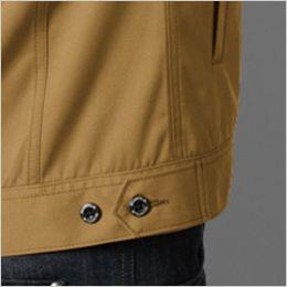 バートル 1711 [春夏用]T/Cライトチノ長袖ジャケット(男女兼用) ウエストボタンアジャスター(脇ゴムなし)