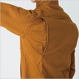 バートル 5501 綿100%チノクロスジャケット(男女兼用) 背ノーフォーク