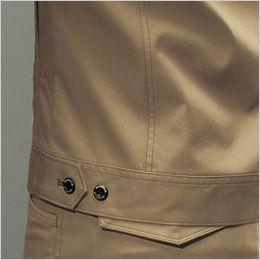 バートル 7051 ストレッチ高密度ツイル長袖ジャケット(男女兼用) 内ポケット