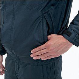 バートル 7210 サーモトロン防寒ブルゾン(大型フード付)(男女兼用) 逆玉ポケット