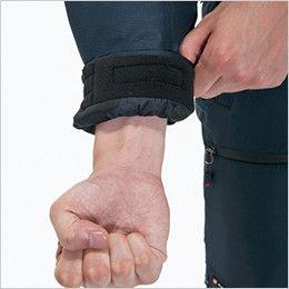 バートル 7210 サーモトロン防寒ブルゾン(大型フード付)(男女兼用) 袖口裏フリース