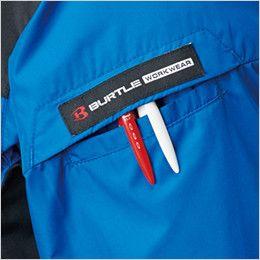 AC1096 バートル エアークラフト[空調服] パーカー半袖ジャケット(男女兼用) ペン差しポケット