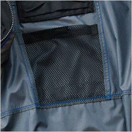 AC1096 バートル エアークラフト[空調服] パーカー半袖ジャケット(男女兼用) メッシュポケット