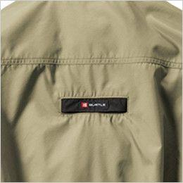[在庫限り]AC1121PSET バートル エアークラフト[空調服]ハーネス対応 迷彩 長袖ブルゾン(男女兼用) ポリ100% フルハーネス ランヤード取付口