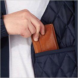 自重堂 48473 高視認性安全服 防水防寒コート(フード付) 左内ポケット