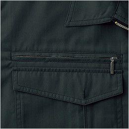 自重堂 55210 [春夏用]JAWIN 半袖ブルゾン ファスナーポケット