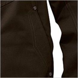 自重堂Z-DRAGON 74030 [春夏用]空調服 制電 長袖ブルゾン 刺し子 両脇 ポケット