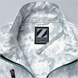 自重堂Z-DRAGON 74060SET [春夏用]空調服セット 迷彩ベスト ポリ100% 調整ヒモ