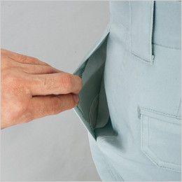 自重堂 80901 まるごとストレッチ ワンタックパンツ パンツ両脇コインポケット