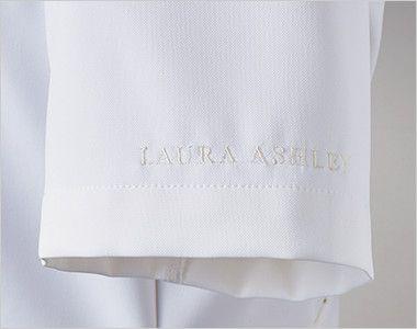 LW601 ローラアシュレイ 半袖ナースジャケット(女性用) ロゴ刺繍