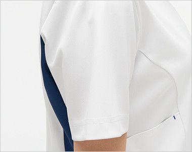 LX4072 ナガイレーベン(nagaileben) エルエックス ハイブリッドメディウェア チュニック(女性用) 腕を細くみせてくれるスッキリした袖